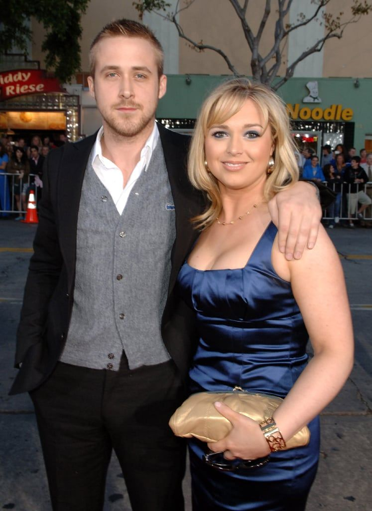 Ryan and Mandi Gosling | Celebrity siblings, Celebrities, Famous celebrities
