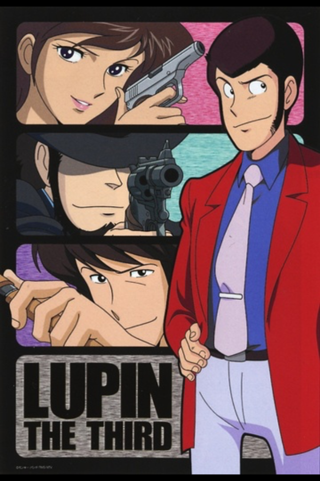 lupin 1 Poster japonês, Estúdios de animação, Studio ghibli
