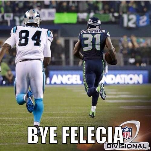 As Seattle Said Bye To Carolina Panthers And Ended Their