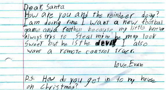 Funny Letters To Santa  Santa Funny Letters And Dolls