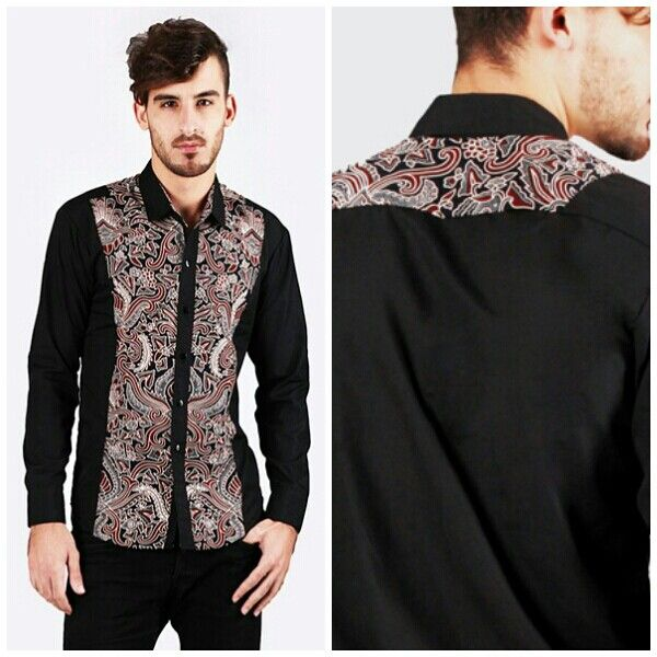 Mavazi menswear Indonesia pattern Royal Javanese Batik