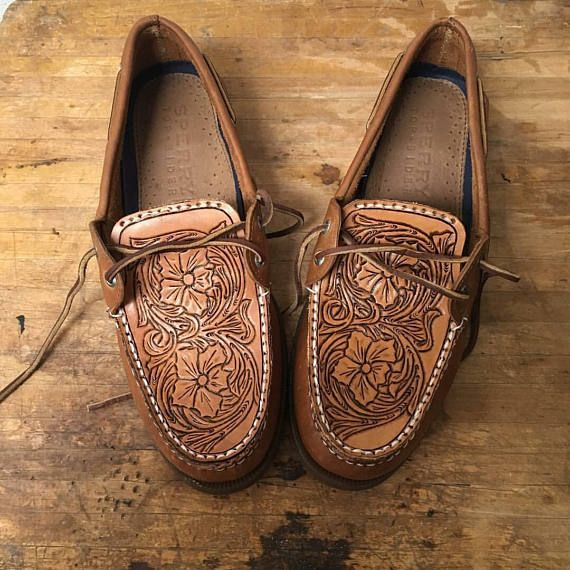 22b0e4b0df Custom tooled Sperrys Sperrys Shoes MUST be provided by you (the buyer) A
