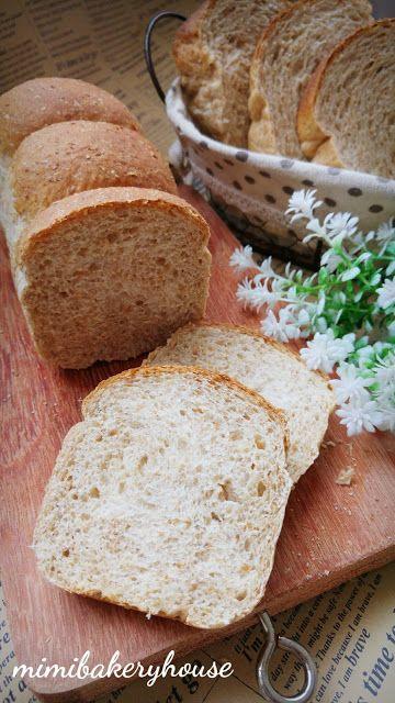 MiMi Bakery House: Honey Whole Wheat Bread [10 May 2016]