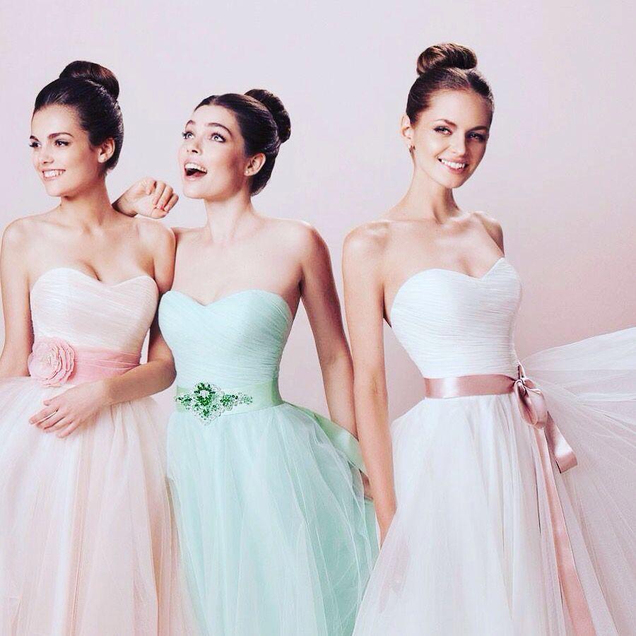 Zarte Pastelltöne 🌸🌸🌸   Abendkleid