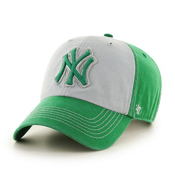 7dbec73b New York Yankees St Patty's Mcgraw Clean Up Kelly 47 Brand Adjustable Hat