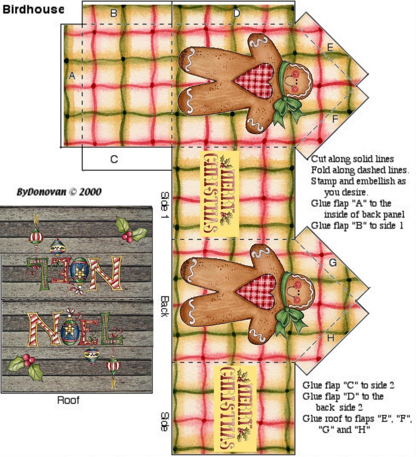 Pin by Linda Pieterse on Box Templates Christmas paper