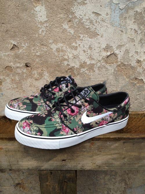 Nike SB stefan janoski camo digi floral  6c42ca3af