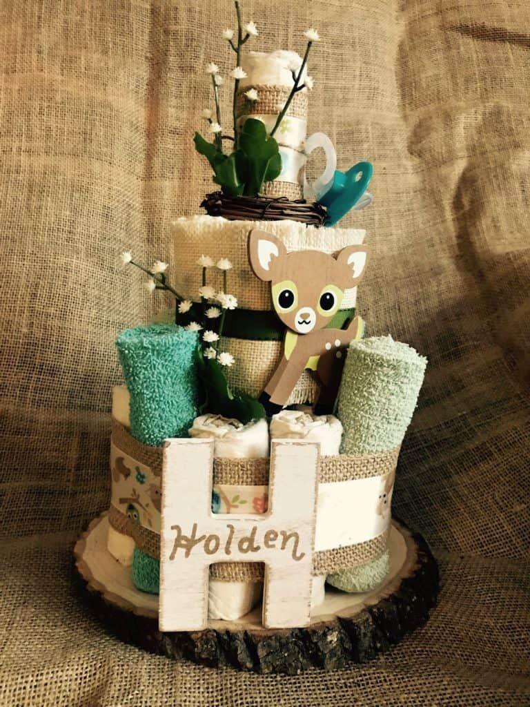 Adorable diaper cake ideas how to make a diaper cake