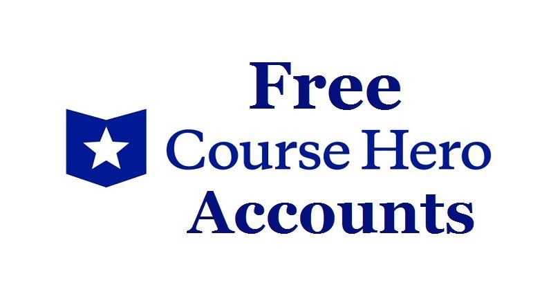 11 Ways To Get Free Course Hero Account Unblur Course Hero 2020 In 2020 Free Courses Online Tutoring Accounting