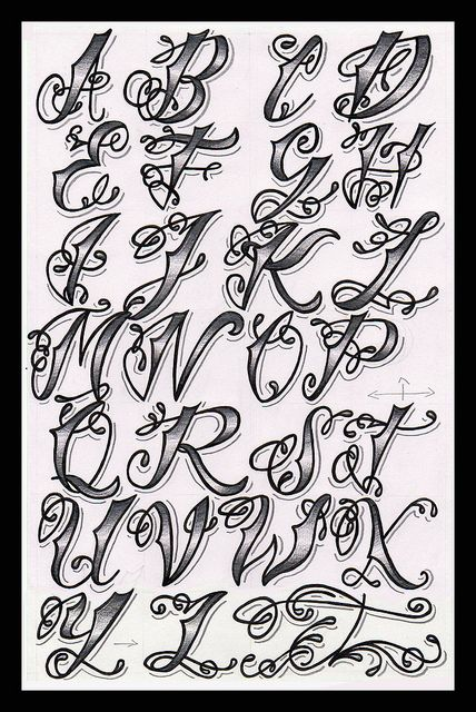alphabet styles lettering | Recent Photos The Commons Getty ...