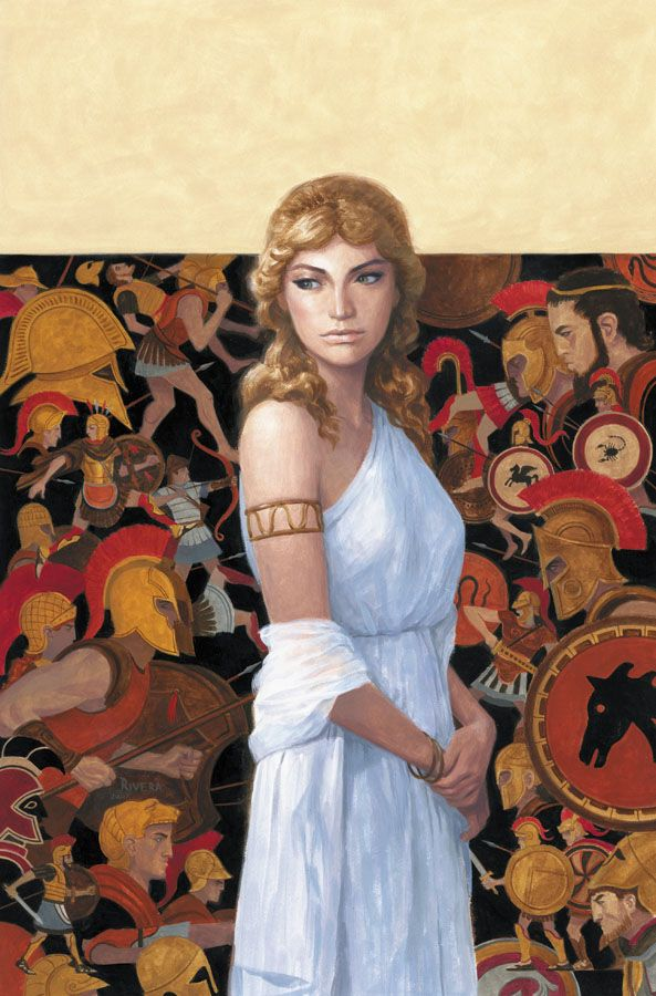 helen in iliad 'troy: fall of a city' review: 'the iliad' becomes just another story in netflix series that tells greek mythology by the book.