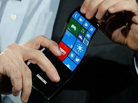 Incredible OLED flexible display by Samsung - Keynote @ CES 2013