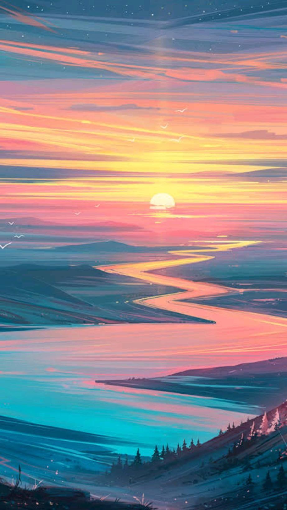 landscape aesthetic