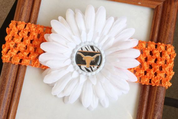 Texas Longhorns Baby Headband Had To Buy Her One For Daddy S Team