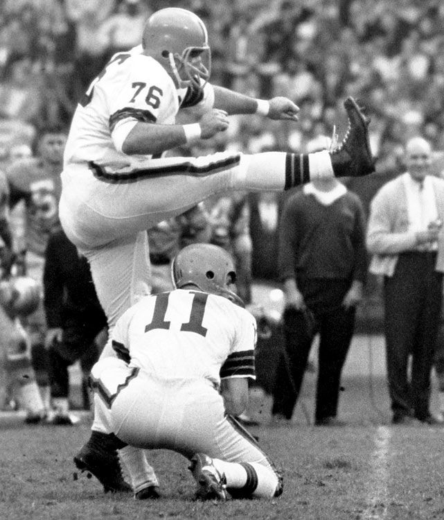 Lou Groza, Cleveland Browns