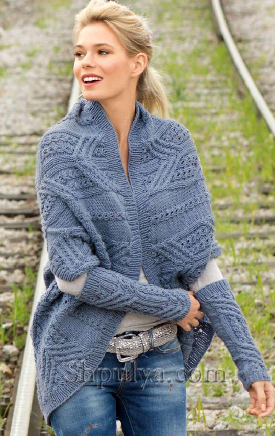 Вязание спицами из 100 шерсти