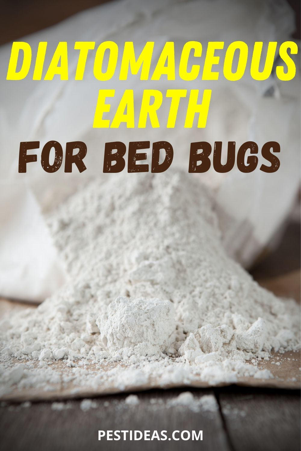 Diatomaceous Earth for Bed Bugs in 2020 Bed bugs, Bed