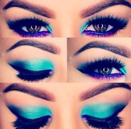 Photo of eye makeup | Tumblr
