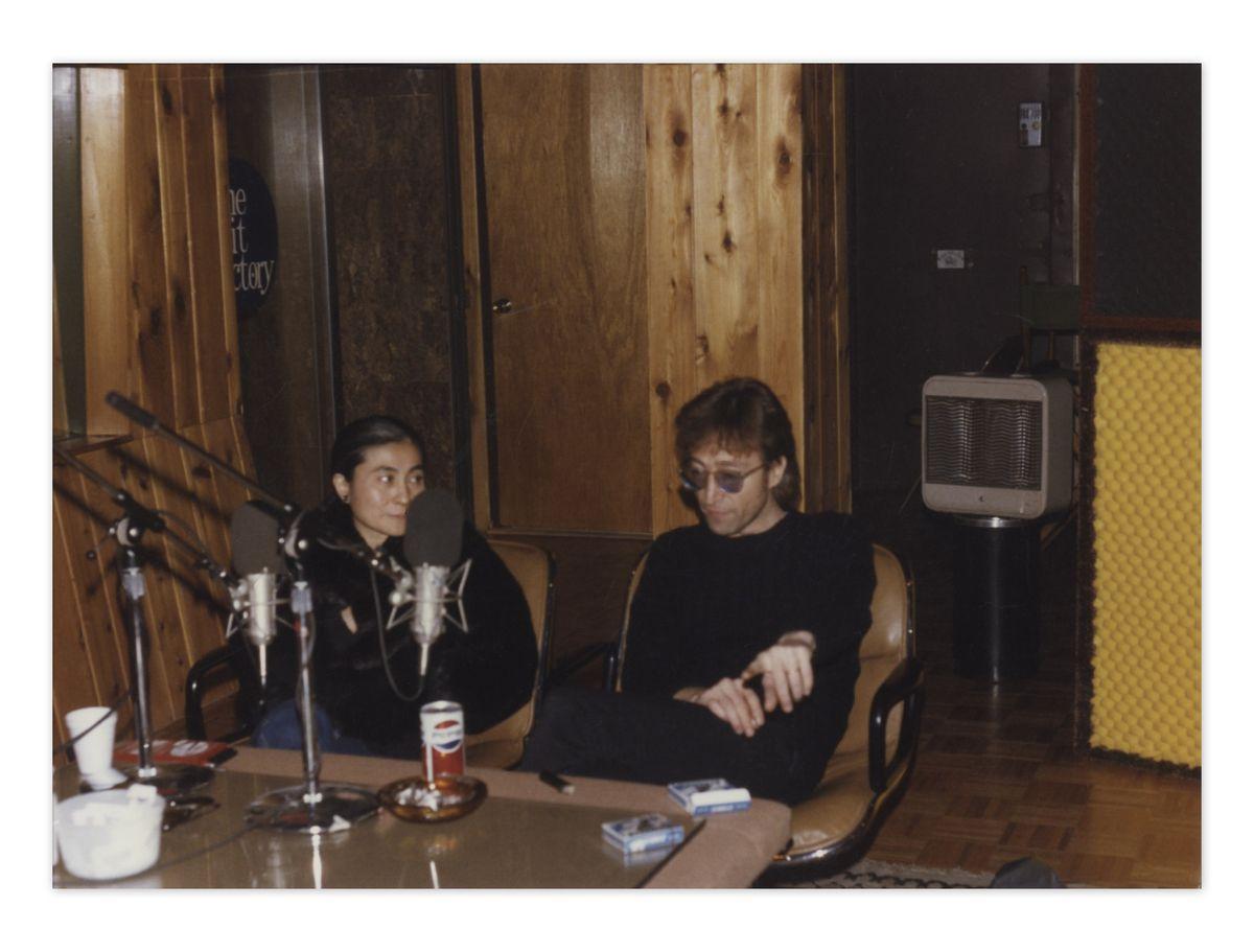 NEW PICS: John Lennon Hours Before He Died