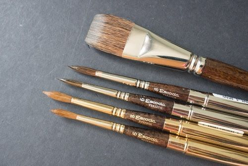 Review Escoda Versatil Watercolour Brush Parka Blogs Pen Art