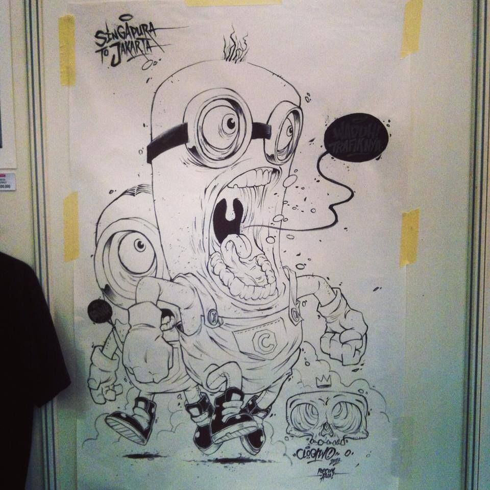 """""""Minions"""" by Clogtwo"""