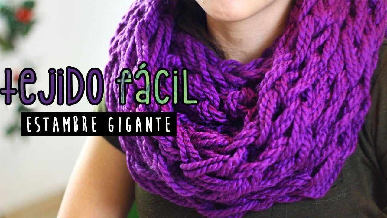 Increíble Patrón De Crochet Bufanda Infinito Fácil Ideas - Manta de ...