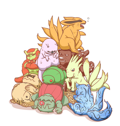 Tailed Beasts Wallpapers: The Tailed Beasts Are So Cuuuuuute!!! Until Of Course They