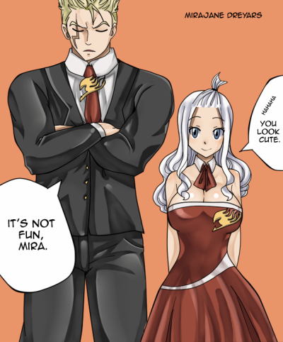 Fairy Tail Laxus And Mirajane Fairy Tail Laxus Fairy Tail Cana Fairy Tail She had recently learned that the older man having learned that natsu loved getting right to it, mirajane did just that. pinterest