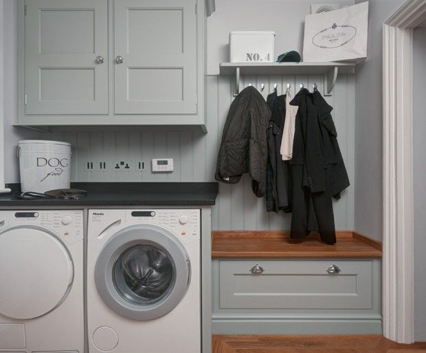 like the coats over the shoe/hats & gloves storage | utility room