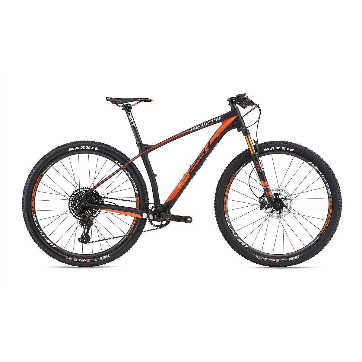 Whyte 29-C 2017 Team Hardtail Mountain Bike Black Orange | BICYCLE ...