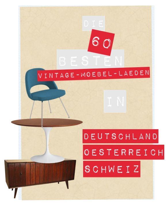 Die 60 Besten Vintagemöbel Läden In D A Ch Art Departement 60er