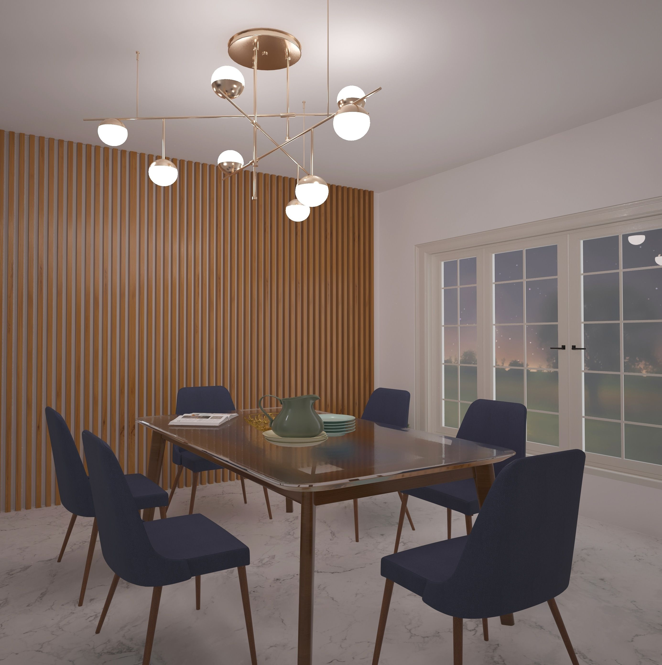 Pin by styldod on Dining Room Ideas | Dining area decor ...