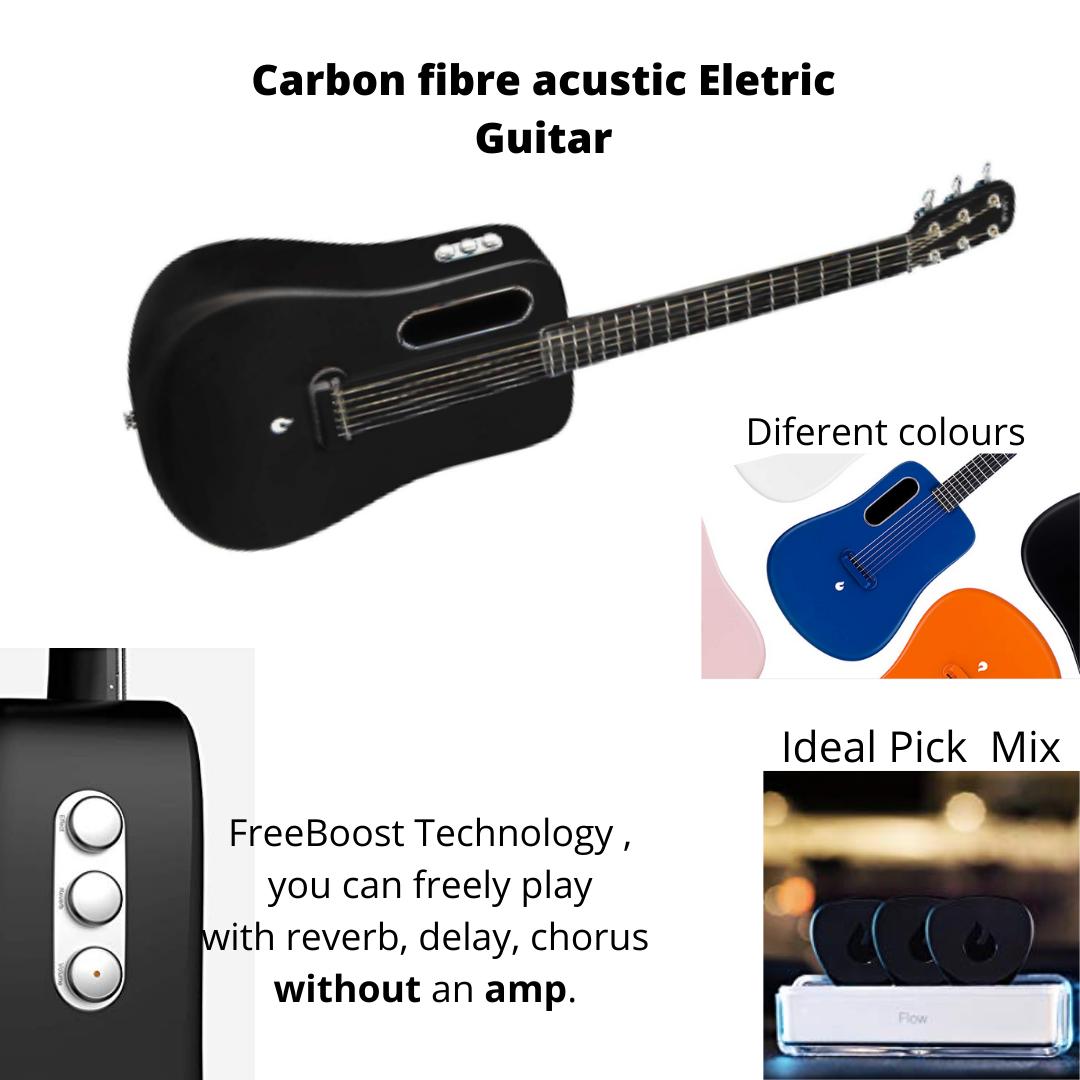Acustic Eletric Guitar Carbon Fiber Guitar Technology
