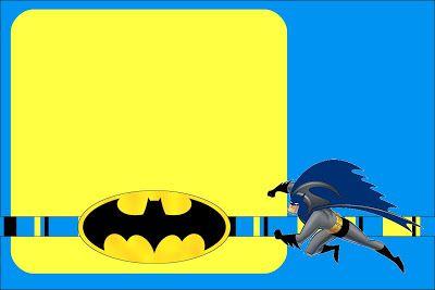 Batman Free Printable Invitations Scrapbooking Pinterest
