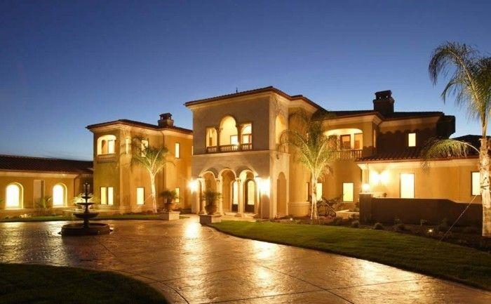 La moderne architecture classique villa jolie
