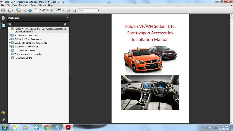 Holden ve ute omegassssv workshop manual ute fandeluxe Choice Image