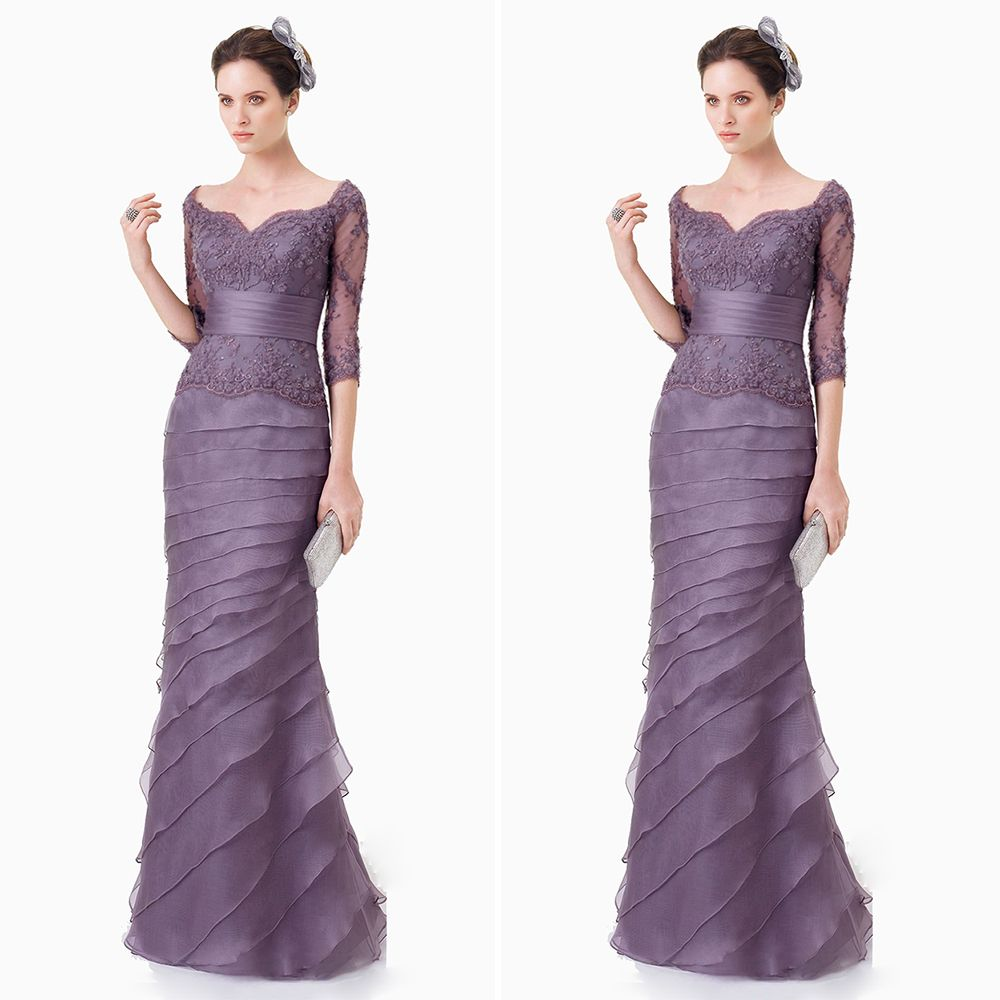 Find More Evening Dresses Information about Beautiful Purple ...