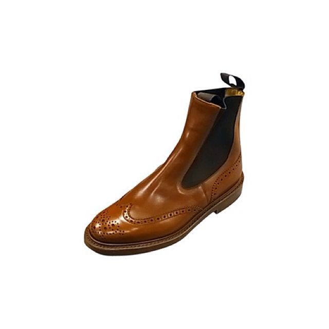 Tricker's Elastic sided boot
