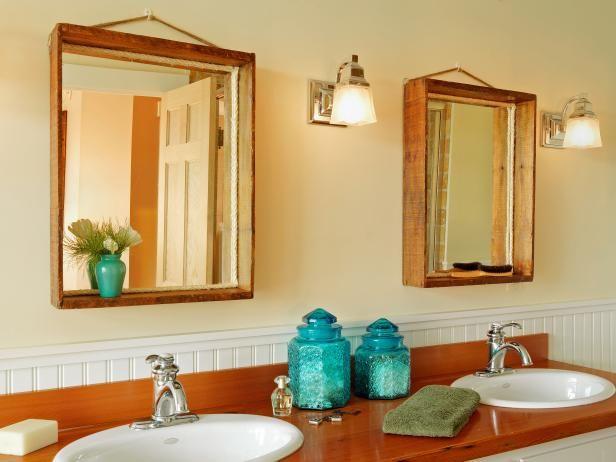 Comment Fabriquer Un Miroir Avec Une Vieille Caisse En Bois