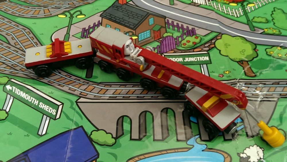 Details About Rocky The Crane Wooden Train Thomas Friends Wooden