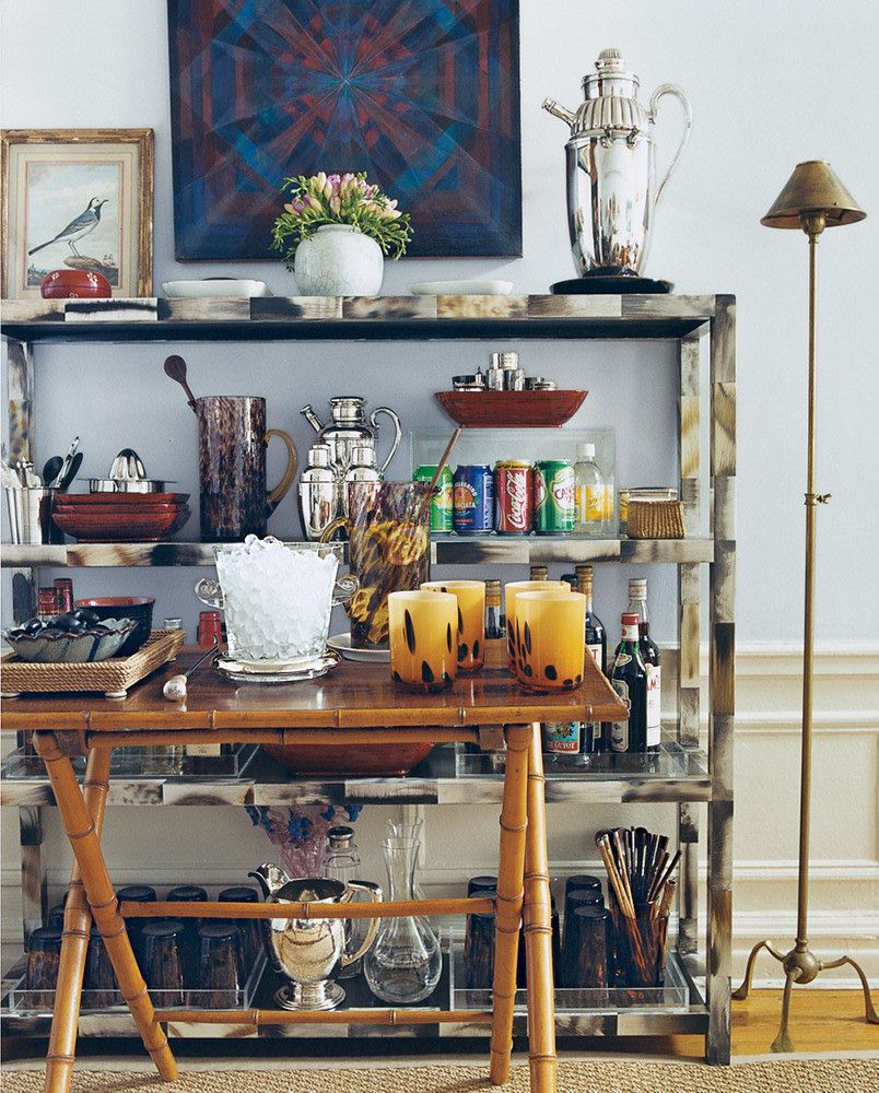 Small Space Entertaining Tips is part of Home Accessories Decor Small Spaces - 9 tips for small space entertaining  Read Domino hosting tips on how to make the most of a small dining space  Think nontraditional place settings and utilizing your small space