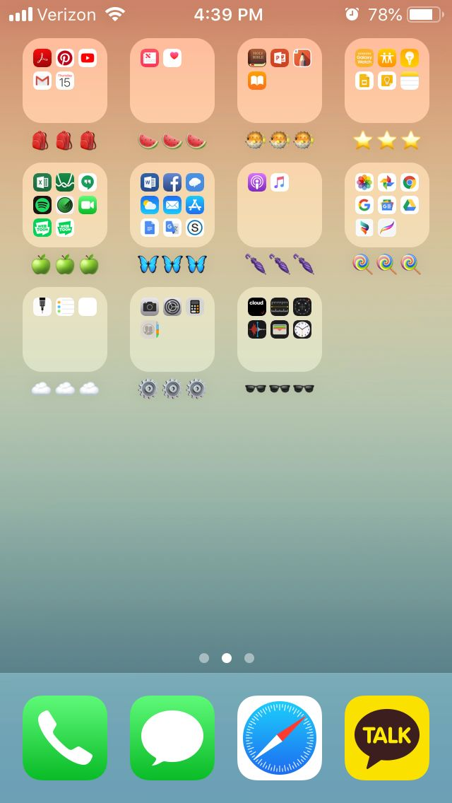 a cute way to organize your phone!! aesthetic Organize