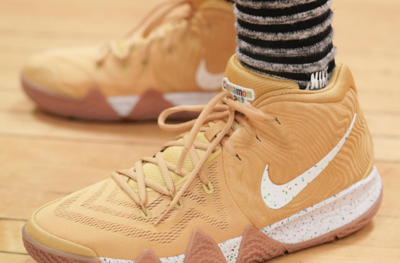 quality design 712f1 7c8c6 Nike Kyrie 4 Cinnamon Toast Crunch Debuting This Summer | Dr ...