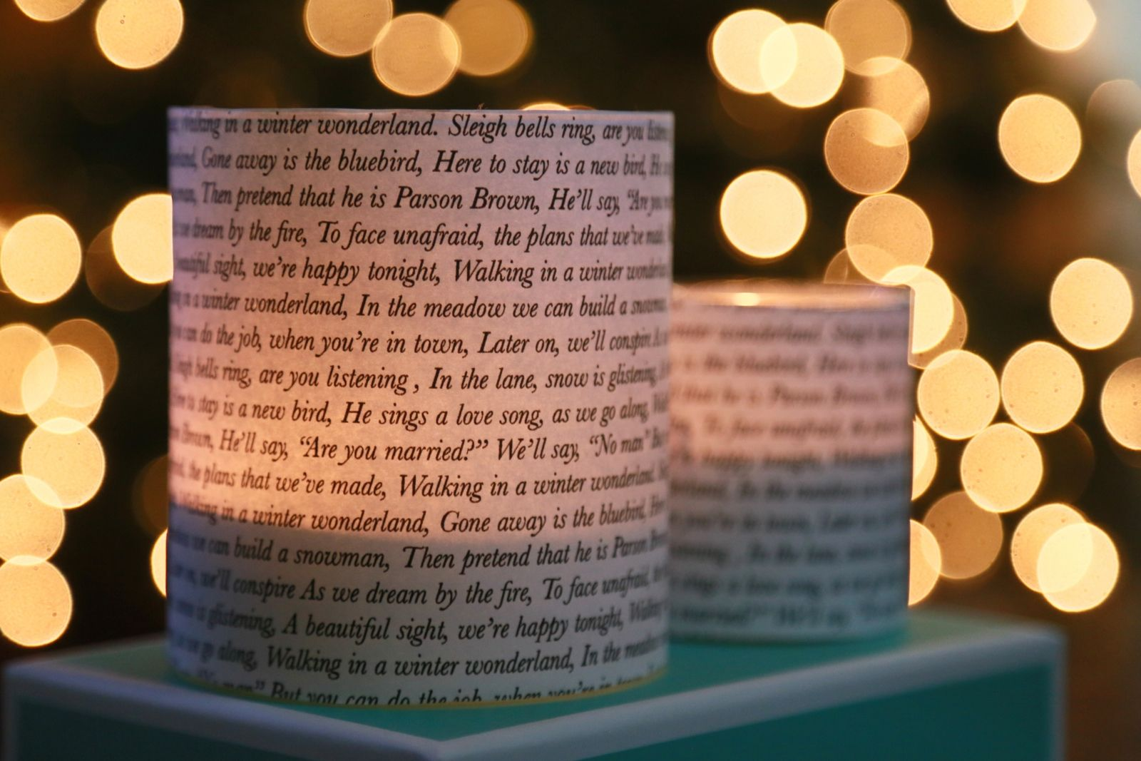 Aleene's Glue Products | Craft & DIY Project Adhesives| Christmas Music Candle Votives