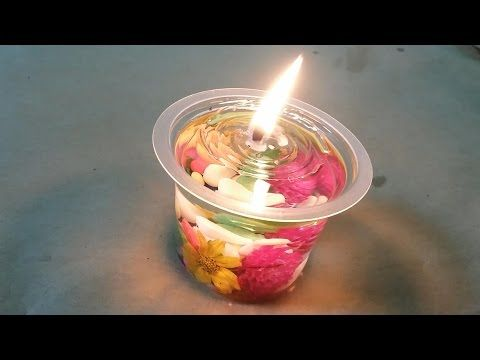Bikin Lilin Air Kereeeen Youtube Lilin Aroma Lilin Kreatif