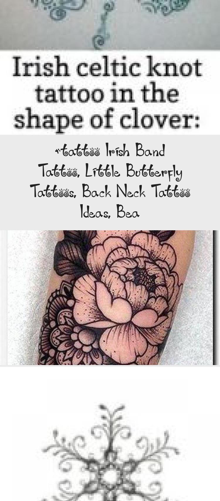 Photo of #tattoo Irish Band Tattoo, Little Butterfly Tattoos, Tätowierungsideen für den Nacken, Bea… – Tätowierungen und Körperkunst