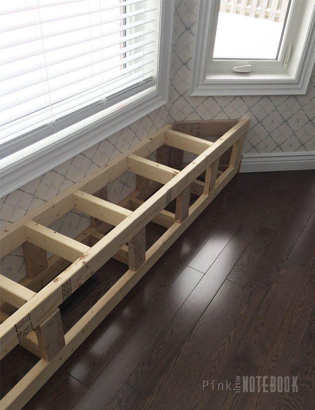 Diy Built In Window Bench Diy Window Seat Diy Bench Seat