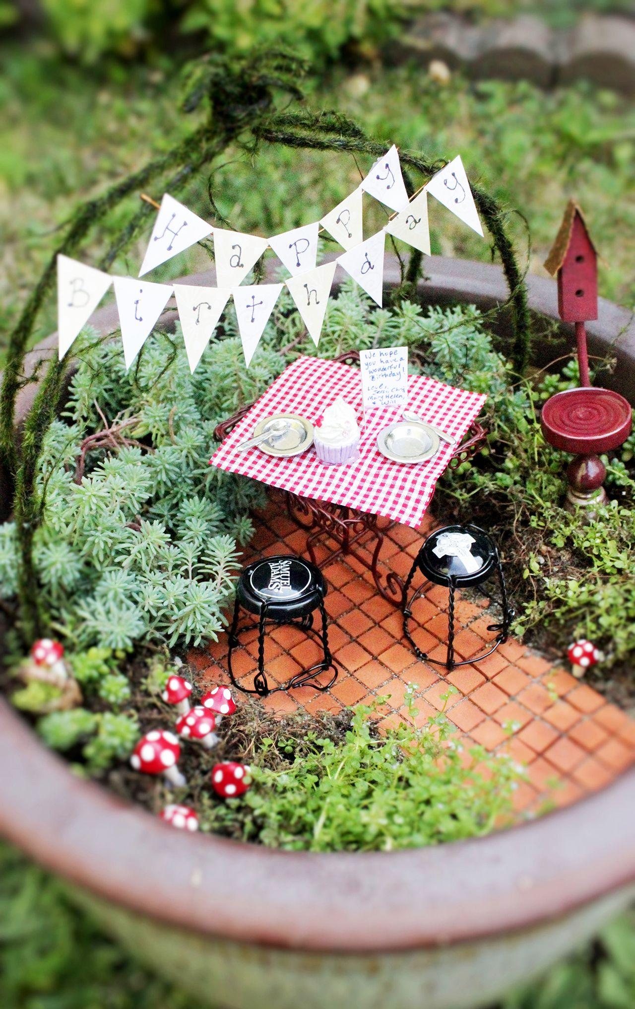 garden decor | { Faerie Magic } | Pinterest | Gardens and Plants