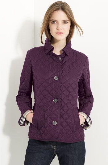 Burberry Brit 'Copford' Quilted Jacket   Nordstrom   My Style ... : burberry brit copford quilted jacket black - Adamdwight.com