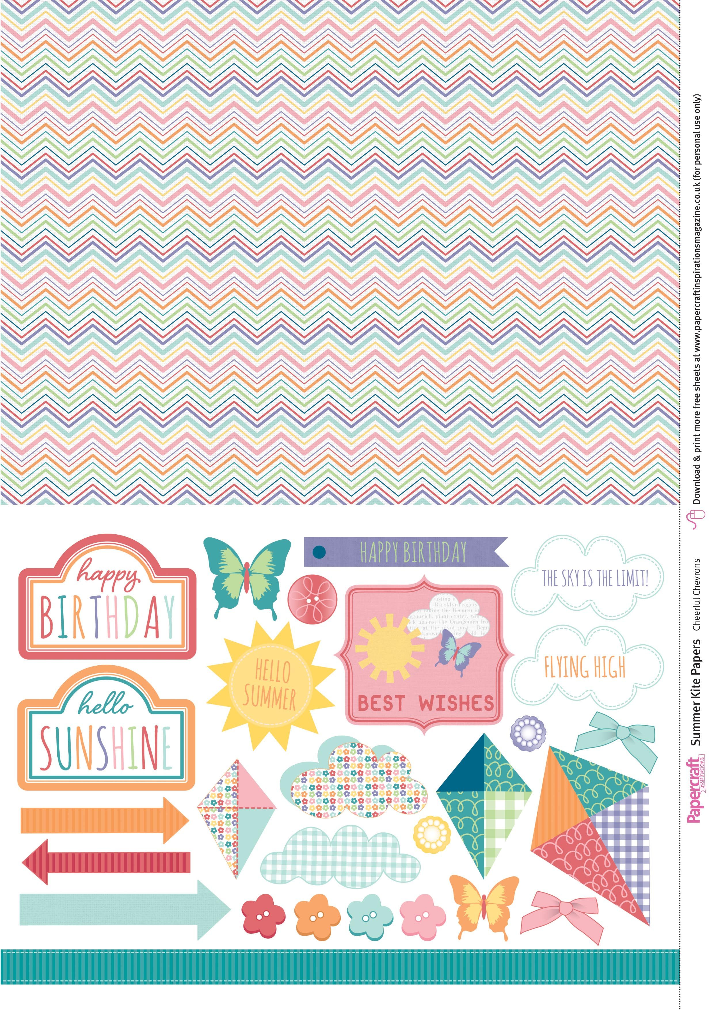 Saturday s Guest Freebies Papercraft Inspirations ✿ Follow the